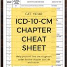 Master ICD-10-CM Codes by the Chapter Letters (FY 2021)