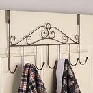 Over The Door Classic Hanger - Bronze
