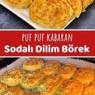 Puf Puf Kabaran Sodalı Dilim Börek (videolu) - Nefis Yemek Tarifleri
