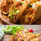 Crock Pot Chicken Tacos