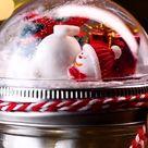 DIY Easy Snow Globe