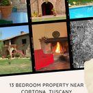 13 Bedroom Property for sale near Cortona, Tuscany!