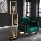 Cielo Staggered Rectangles Floor Lamp