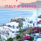 14 Day Itinerary in Italy and Greece - Nylon Pink