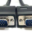 Micro Connectors, Inc. 6 feet SVGA/VGA High Resolution Cable HD15M to 5 BNC Connectors M05 1075   25 ft / SVGA HR HD15 M to HD15 M / Black
