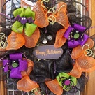 Mesh Ribbon Wreaths