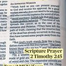 Whose approval are we seekingScripture Prayer 2 Timothy 215