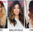 The difference between DipDye, Balayage, and Ombre. There is a difference!