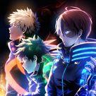 | Save & Follow | Midoriya Izuku • Deku • Bakugou Katsuki • Shoto Todoroki • My Hero Academia