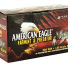 Federal American Eagle Varmint & Predator 308 Win 130 Grain Jacketed Hollow Point 40 Round Box AE308130VP