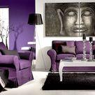 10 Deko Wohnzimmer Violett