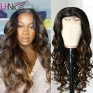 eBay Indian Ombre Body Wave 13X4