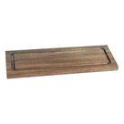 Chopping Board Acacia Rectangular (33 X 13 x 1,5 cm)