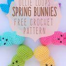 Ollie Loop's Spring Bunnies!  Free Crochet Pattern