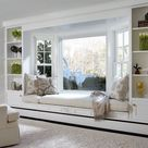 45 Bay Window Ideas with Modern Interior Design ~ Matchness.com
