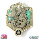 Golden Old Joseph Joestar - JoJo's Bizarre Adventure Pin