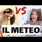 Che TEMPO Fa in ITALIA? Come Parlare del METEO in italiano! Migliora il VOCABOLARIO ITALIANO! ☀️ ☁️