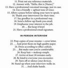 49 Ways To Stand Out During The Interview Process | The LC Studio