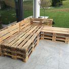 Gartenlounge aus Paletten selber bauen - Heimwerkerking