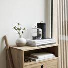 Oak Dresser w/ Drawer, FSC by Hübsch