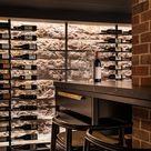 Sandstone Basement Turned Wine Cellar - Darren James Interiors