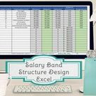 Salary Band Template Salary Structure Template Excel | Etsy