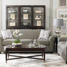 Bassett Furniture Maverick Love Seat, Sofa, or Queen Sleeper Sofa from $599.99–$899.99. Made Upon Order.