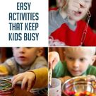 These Activities Worked for Me to Find 2 (long-awaited) Minutes of Peace!