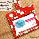 Business Card Holder/Luggage Tags