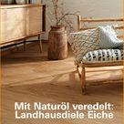 Landhausdiele Eiche rustikal bei Klöpfer kaufen www.Kloepfer.de