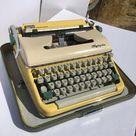 🌞GORGEOUS🌞1962 Olympia SM5 Typewriter *HotRod Typewriter Co* Serviced/Superb