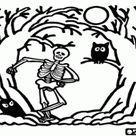 Omalovánky Halloween omalovánky #3