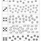 Bündeln (Würfelbilder) | Mathe für vorschulkinder, Vorschulrechnen, Vorschulprojekte