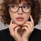 Cat eye reading glasses frames women with anti-reflective, blue light blocking, photochromic, sun le