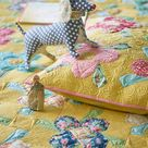 TILDA CLASSICS Paint Dots Grey | Yardage | Tilda Quilt Fabric | Sku 130036 | By the Yard | Gift