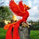 Phoenix Firebird Crochet Amigurumi Pattern DIGITAL PDF | Etsy
