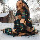 The New England House Tartan Blanket