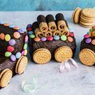 Eisenbahn-Kuchen – perfekt für den Kindergeburtstag   Die besten Backrezepte mit Gelinggarantie