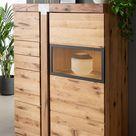 Modernes Highboard aus Wildeiche für deine Wohnung