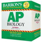 Barron's AP Biology Flash Cards, Black