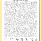 Free printable I spy outer space