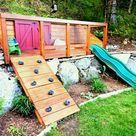 Erstaunliche Ideen für abfallende Gärten – machen Sie den Hang zum Vorteil; - Haustricks