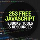 235 Free Javascript Ebooks, Tools and Resources