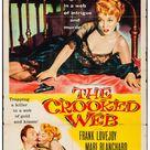 The Crooked Web (Columbia, 1955) Folded, Fine+. One Sheet (27