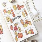 25 Best September Bullet Journal Cover Ideas for 2021 - Beautiful Dawn Designs