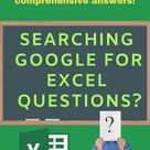 MyExcelOnline Academy   Get Excel Answers Fast