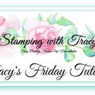 Friday Tutorial Featuring Feels Like Frost - Stamping With Tracy