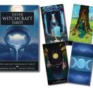 Silver Witchcraft Tarot Kit Card Deck & Guidebook Set oracle cards and Book magic magick witch craft