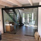 Tolle Ganzglasanlage im Eingangsbereich