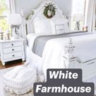 White Farmhouse Bedroom